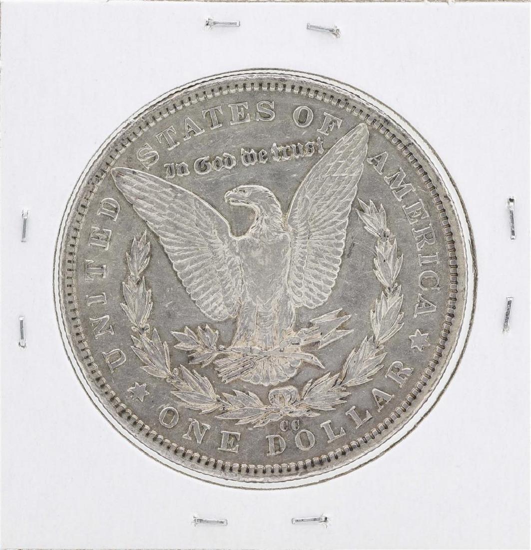 1893-CC $1 Morgan Silver Dollar Coin - 2
