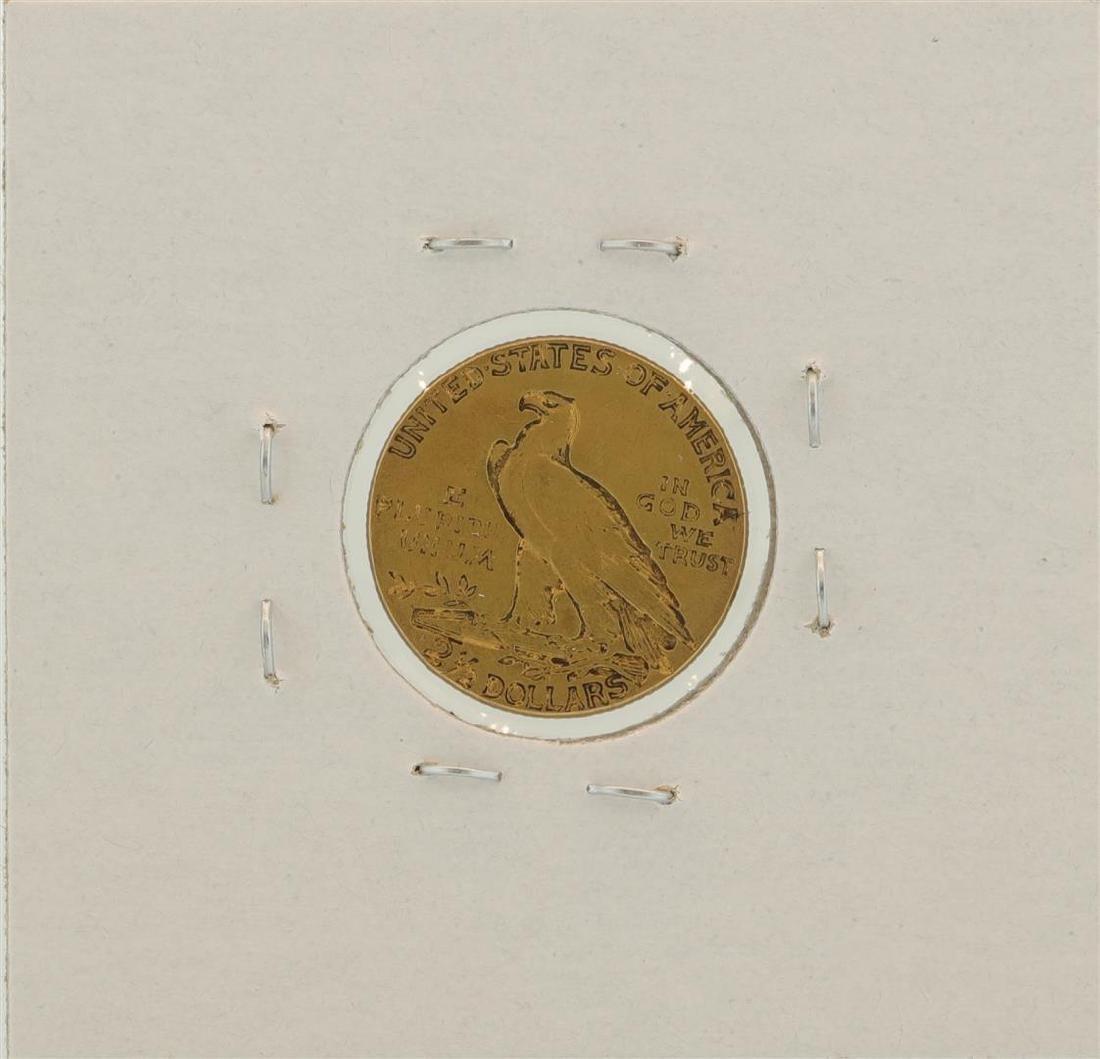 1926 $2.5 Indian Head Quarter Eagle Gold Coin - 2