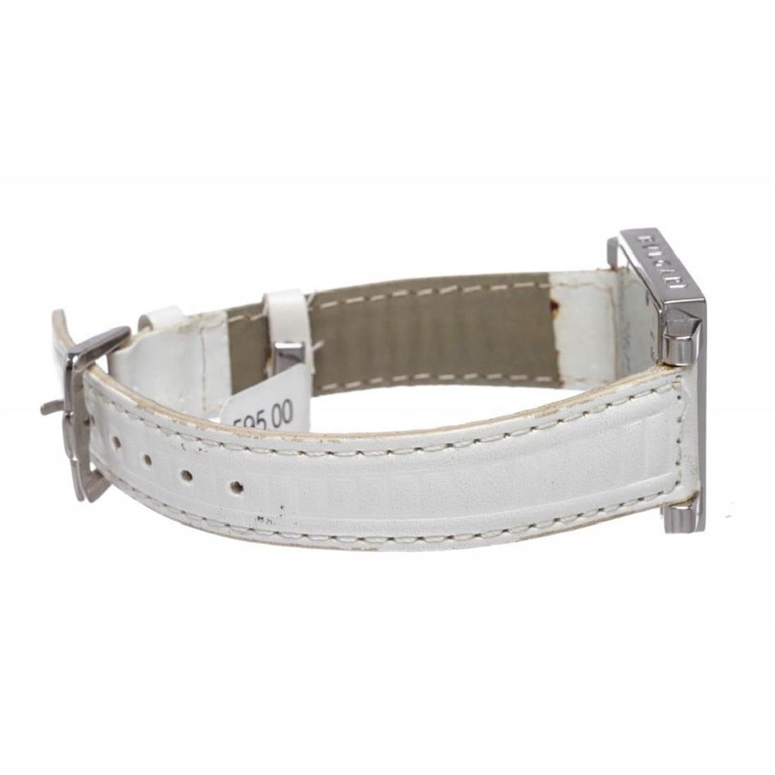 Bvlgari White SQ 29 SLD Stainless Steel Square Ladies - 3