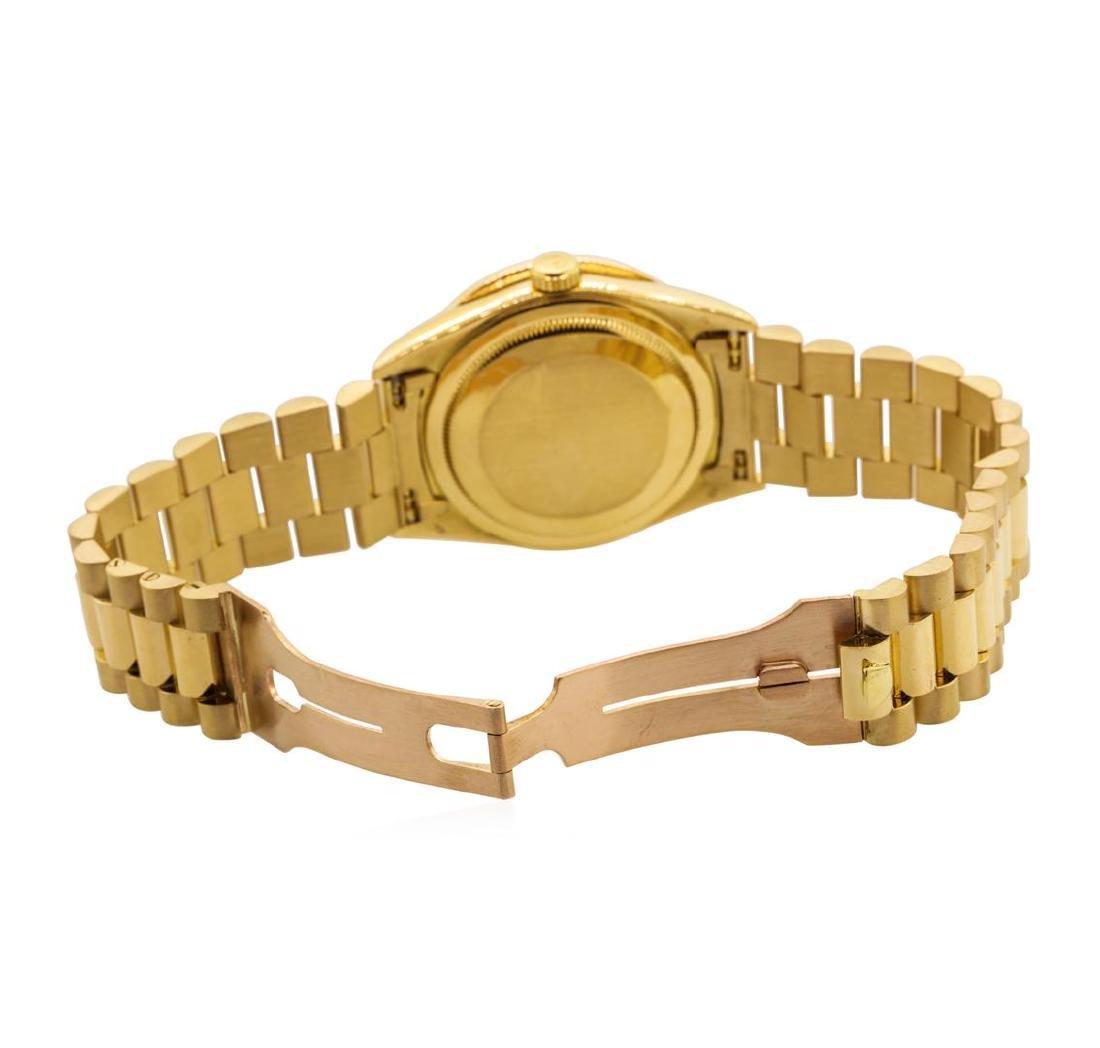 Rolex Men's President Wristwatch - 18KT Yellow Gold - 4