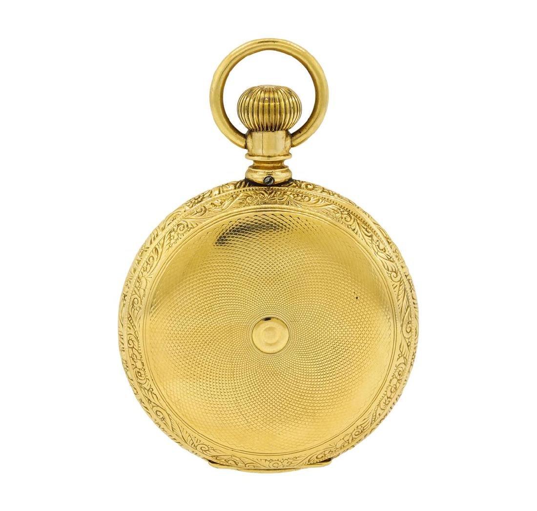 Antique Hampden Watch Co. Pocket Watch - 14KT Yellow - 2