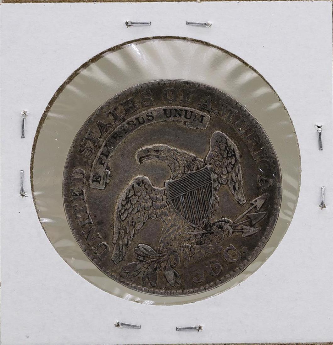 1833 Capped Bust Half Dollar Coin - 2