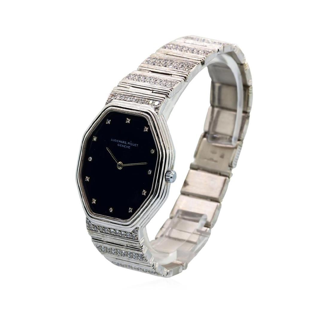 Audemars Piguet 18KT White Gold Diamond Watch - 2