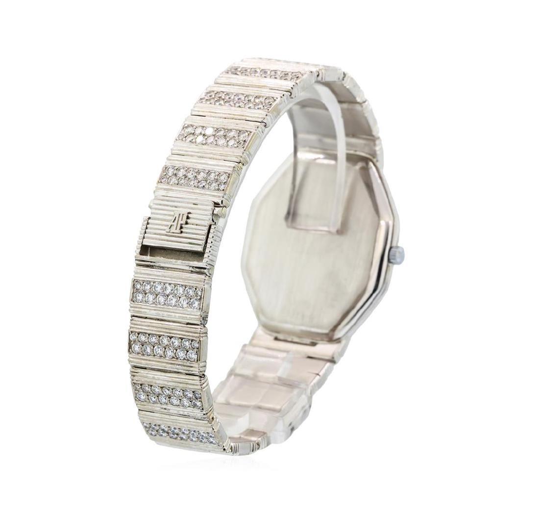 Audemars Piguet 18KT White Gold Diamond Watch - 3