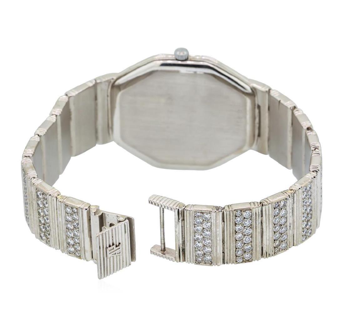 Audemars Piguet 18KT White Gold Diamond Watch - 4