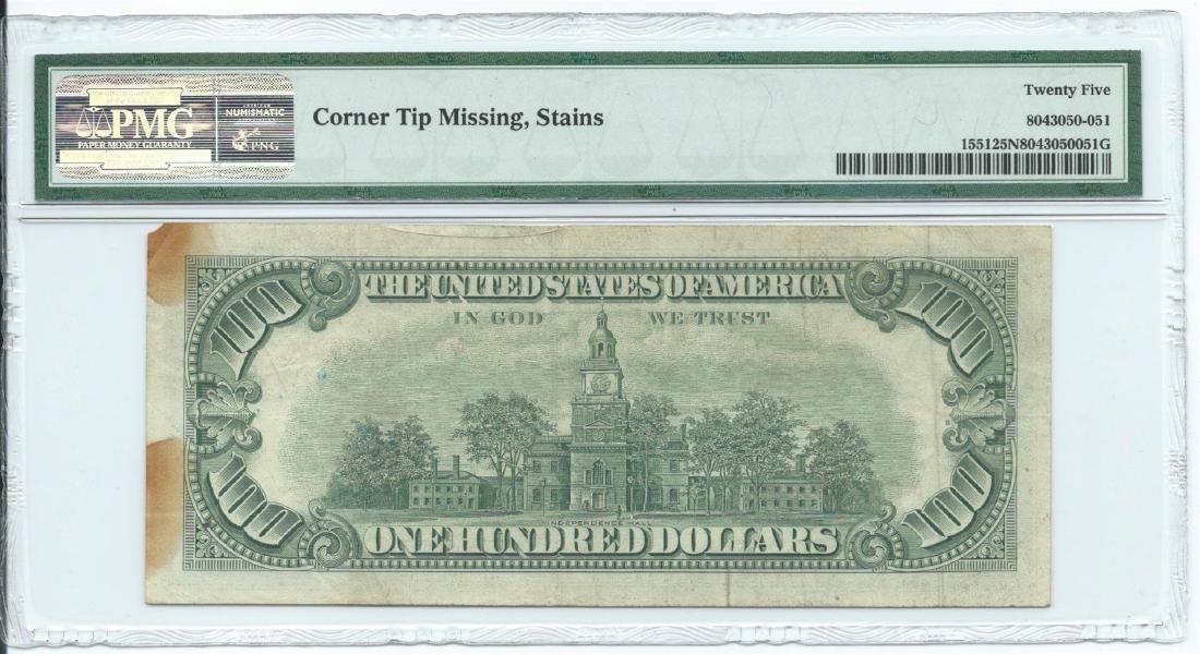 1966A $100 Legal Tender Note PMG Very Fine 25 Net - 2