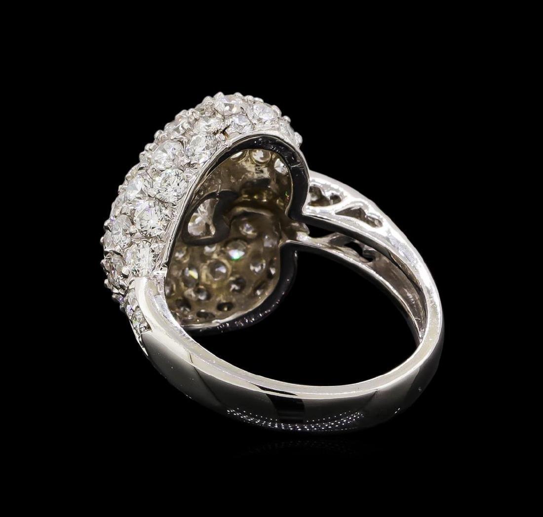 14KT White Gold 1.74 ctw Diamond Ring - 3