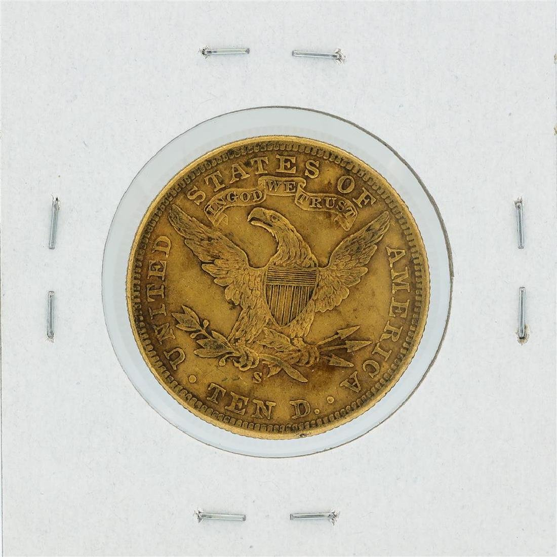 1903-S $10 XF Liberty Head Eagle Gold Coin - 2