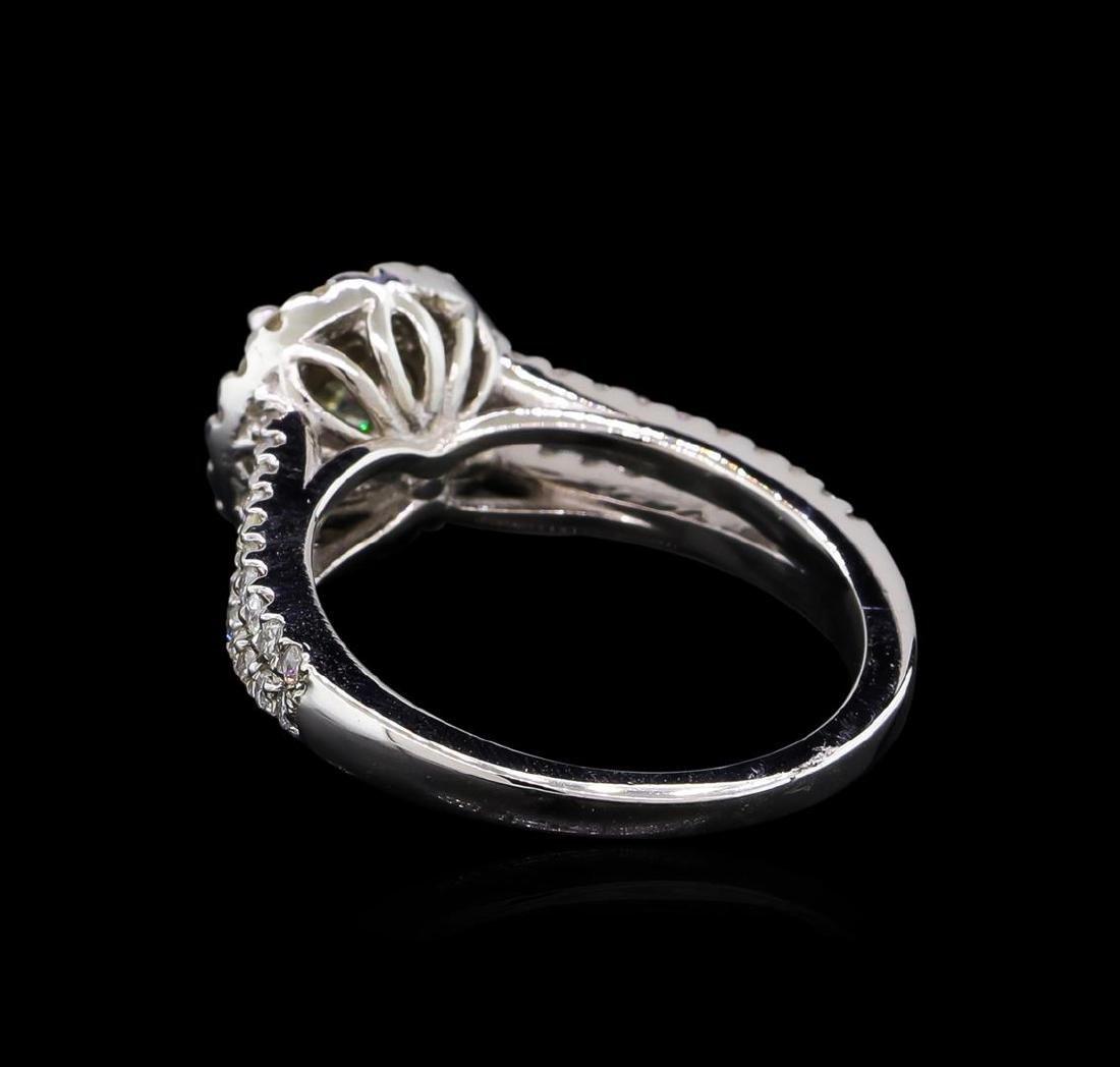1.18 ctw Diamond Ring - 14KT White Gold - 3