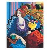 Lady in Meadow by Govezensky Patricia