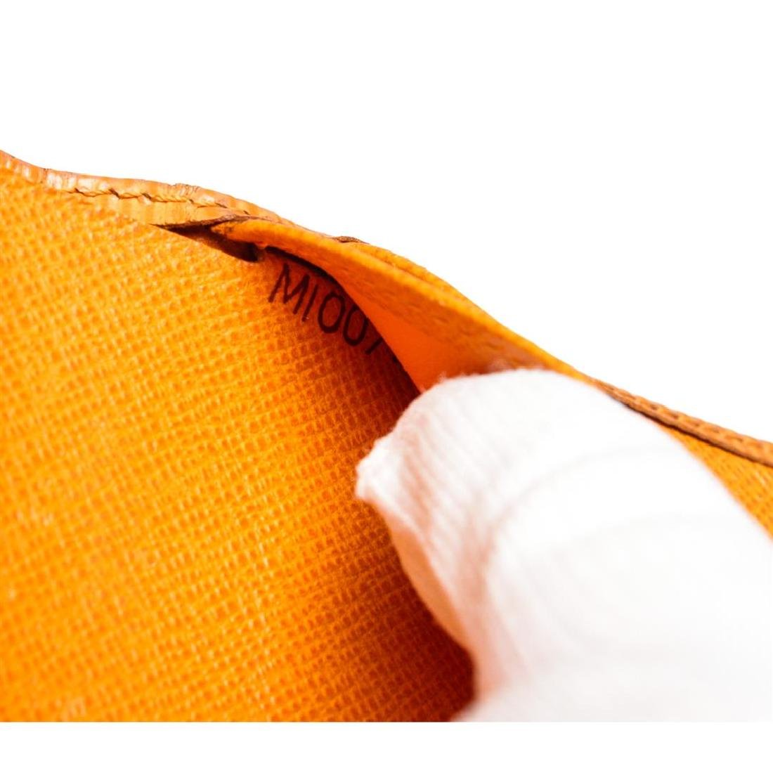 Louis Vuitton Orange Epi Leather French Purse Wallet - 7