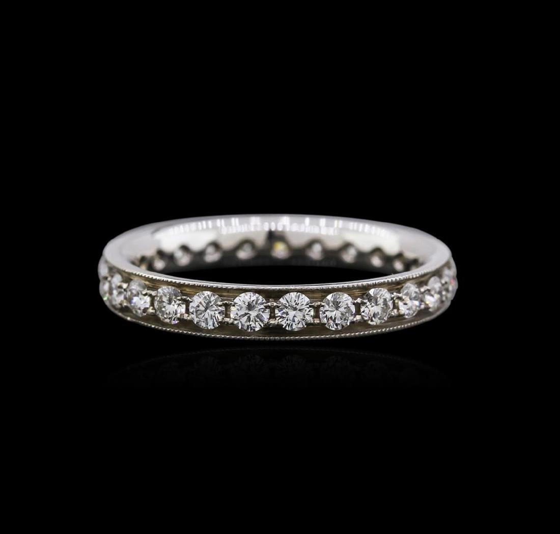 14KT White Gold 0.94 ctw Diamond Ring - 2