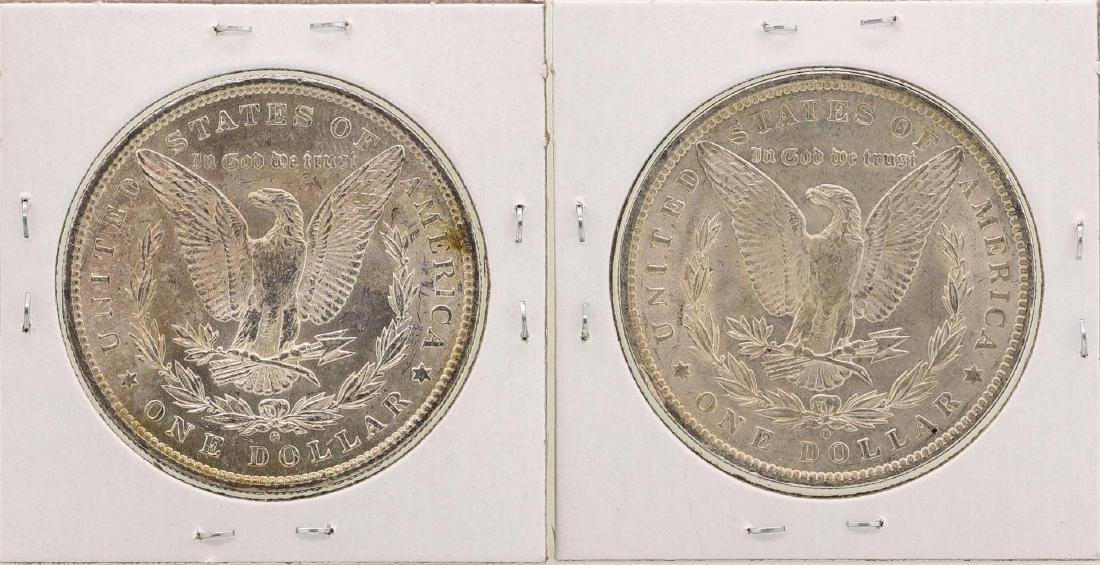 Lot of 1884-O & 1885-O $1 Morgan Silver Dollar Coins - 2