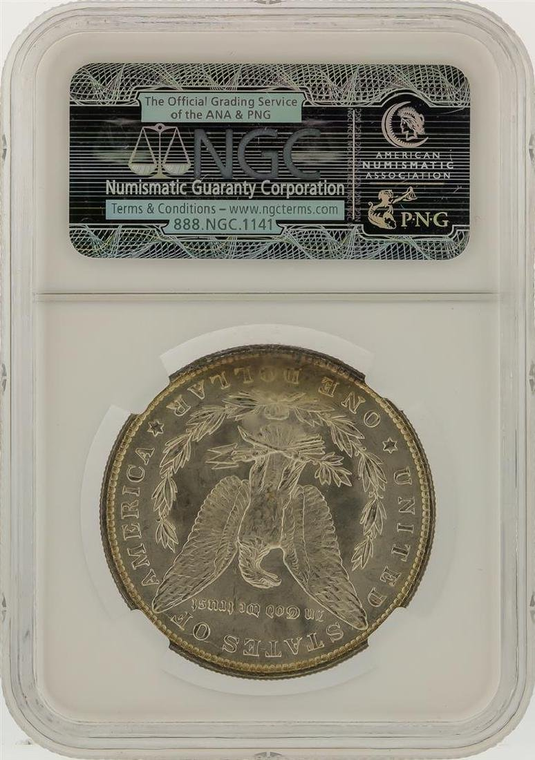 1887 NGC MS65 Morgan Silver Dollar - 2