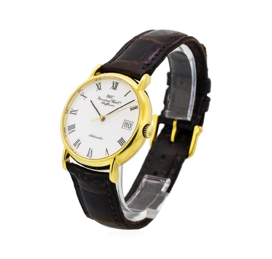 Iwc 18KT Yellow Gold Portofino Watch - 2