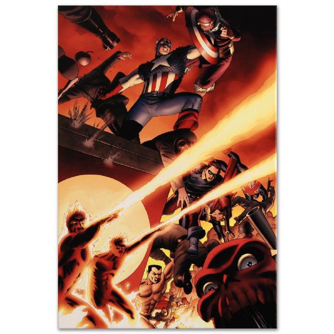 Fallen Son: Death of Captain America #5 by Marvel