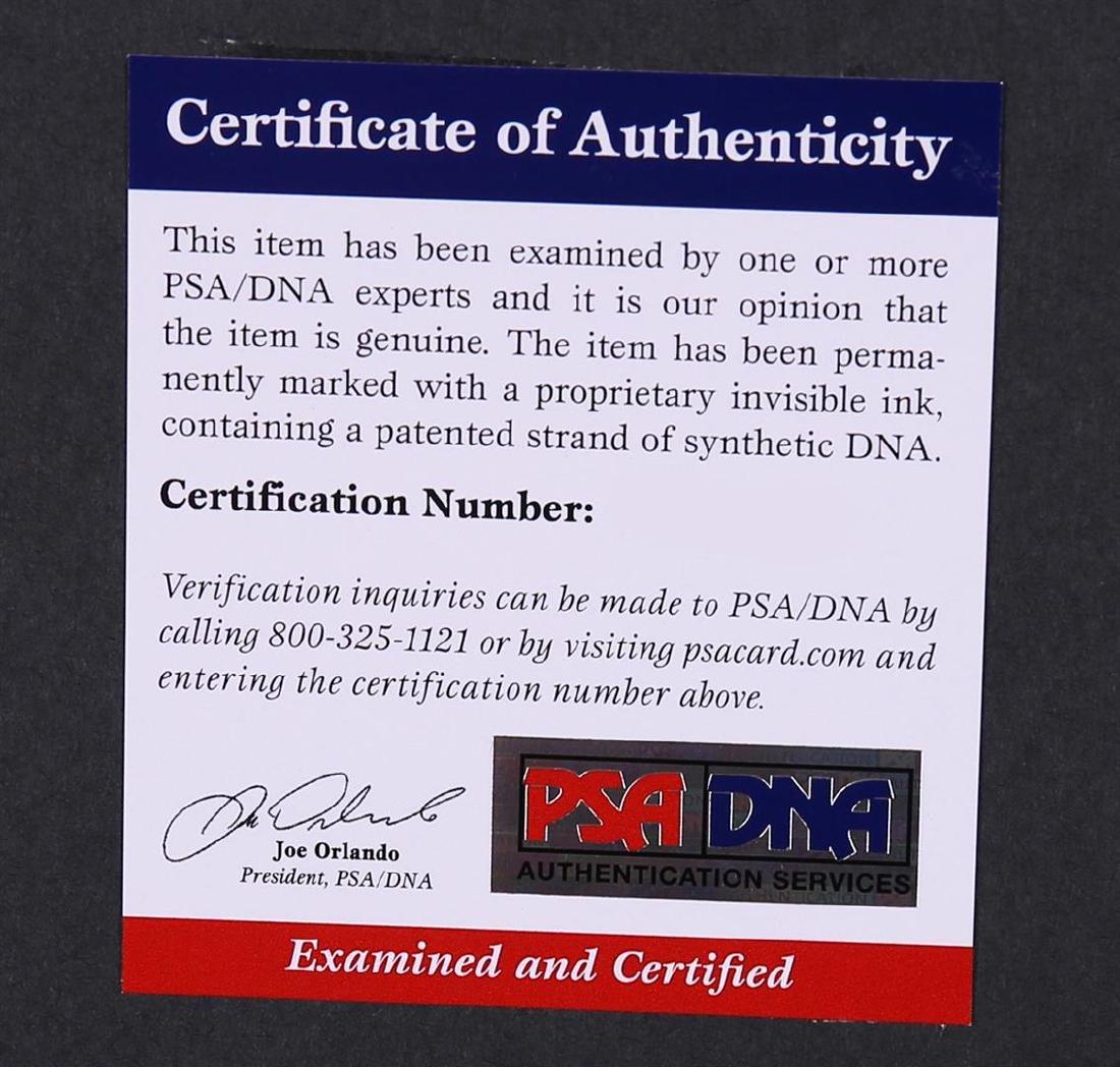 PSA Certified John Wooden and Bill Walton Pyramid of - 4