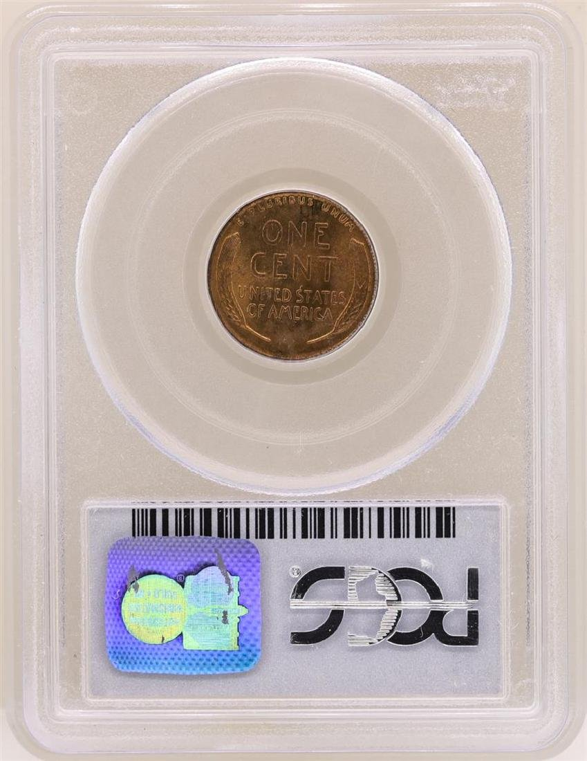 1916 Lincoln Cent Coin PCGS MS64RB - 2