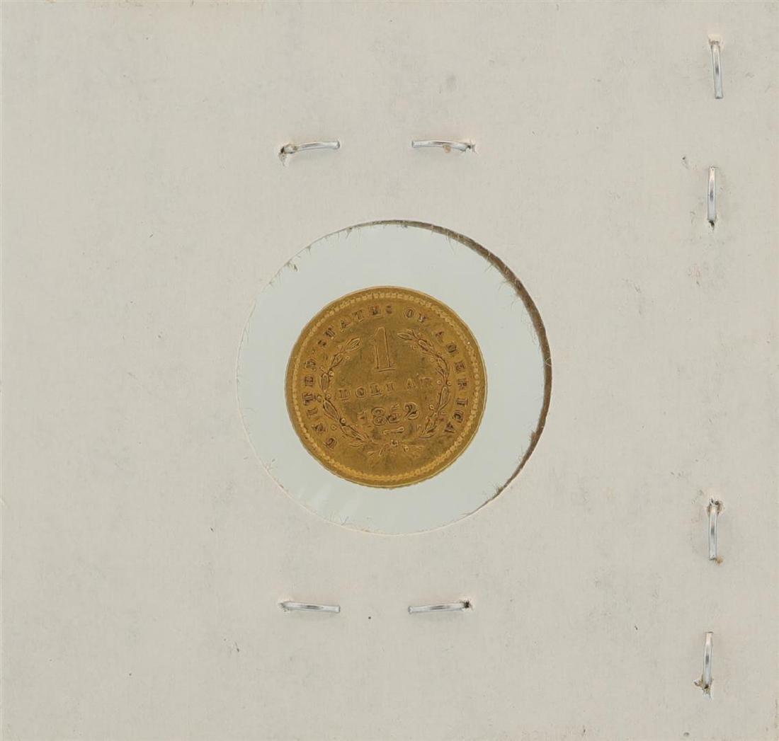 1852 $1 Liberty Head Gold Coin - 2