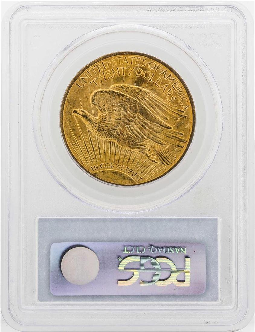 1914-S $20 St. Gaudens Double Eagle Gold Coin PCGS MS64 - 2