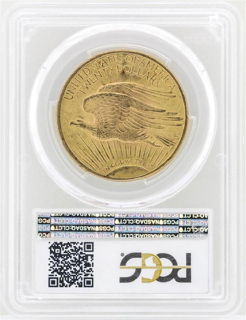 1924 $20 St. Gaudens Double Eagle Gold Coin PCGS MS65 - 2