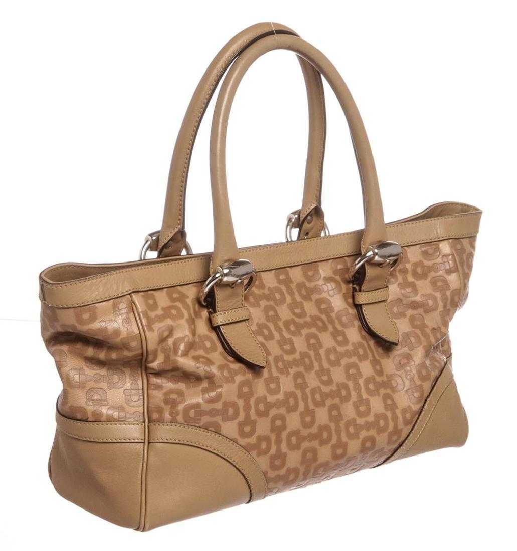 d96174106baa Gucci Brown Horsebit Leather Medium Tote Bag