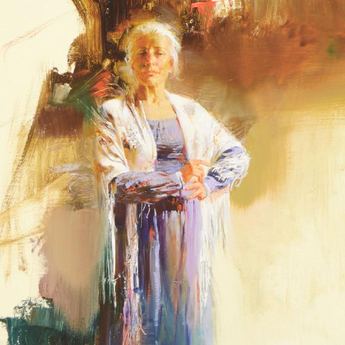 The Matriarch by Pino (1939-2010) - 2