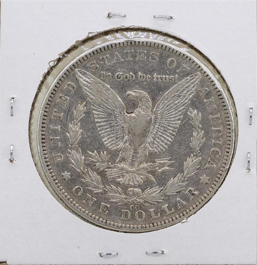 1889-CC $1 Morgan Silver Dollar Coin - 2