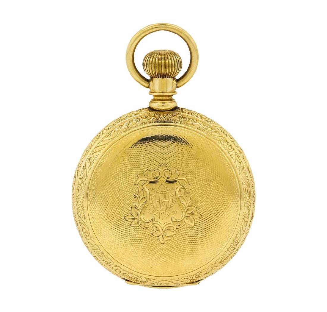 Antique Hampden Watch Co. Pocket Watch - 14KT Yellow