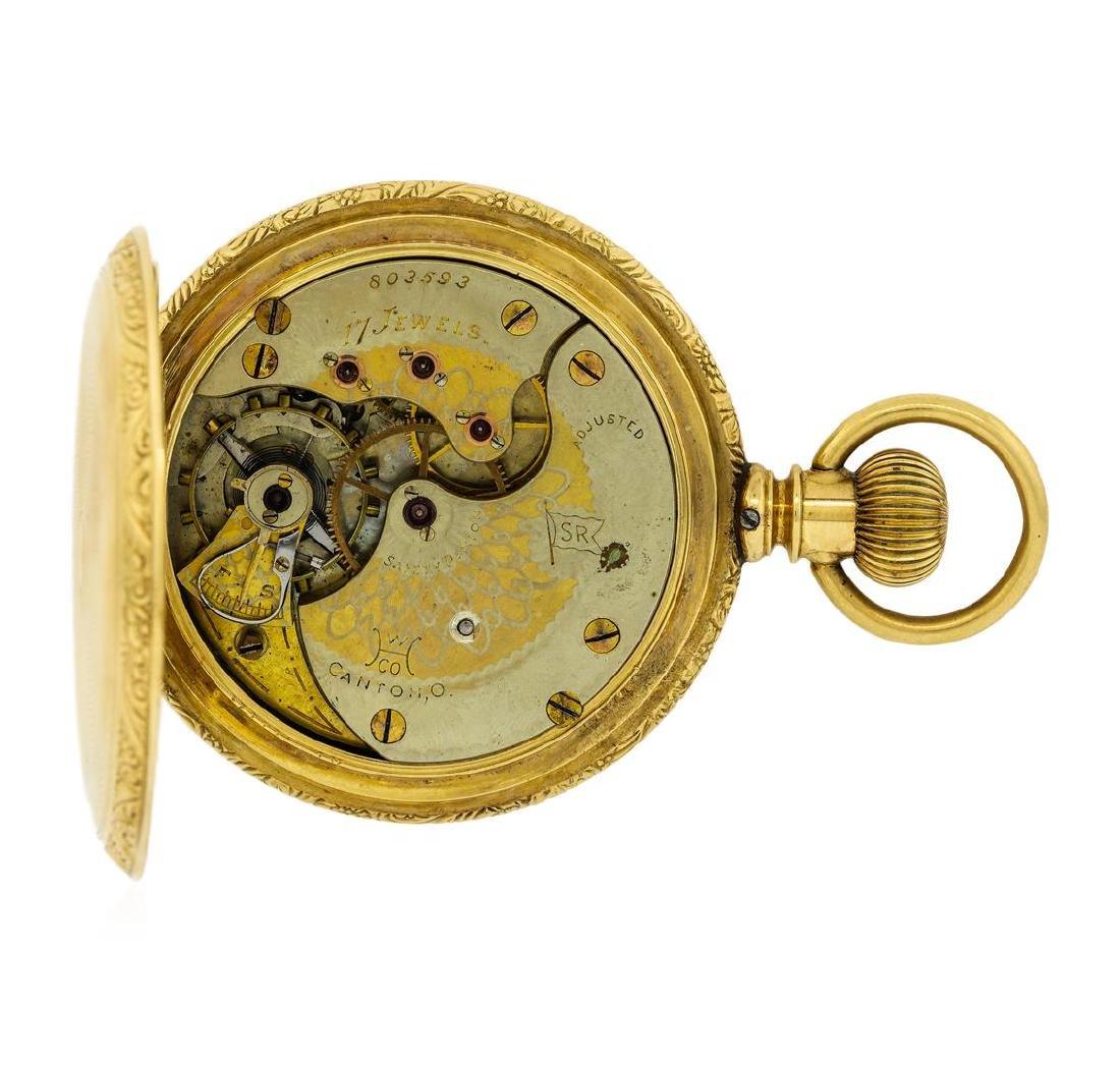 Antique Hampden Watch Co. Pocket Watch - 14KT Yellow - 5
