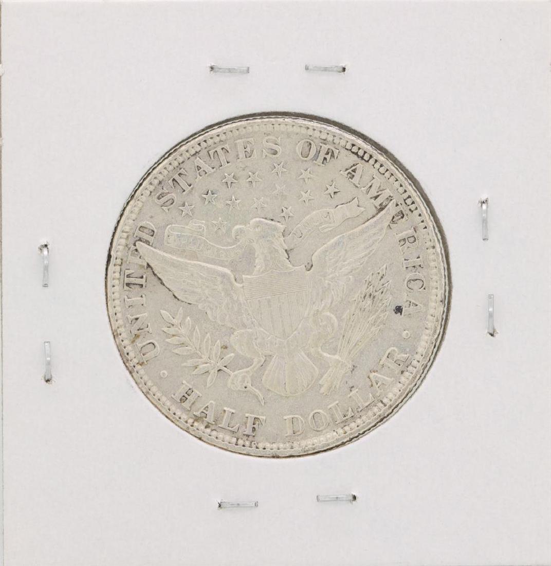 1912 Barber Half Dollar Coin - 2