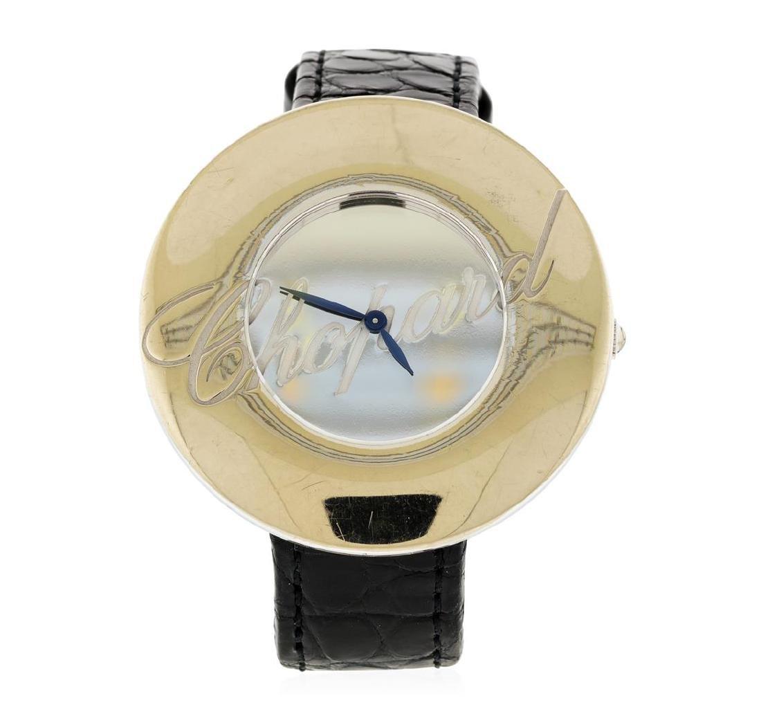 Chopard 18K White Gold Chopardissimo Watch