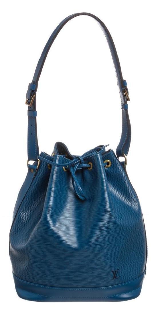 Louis Vuitton Blue Epi Leather Noe GM Drawstring