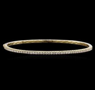 7559785b7 18K YELLOW GOLD LADIES MOROCCAN BANGLE BRACELET LARGE - Jun 16, 2019 ...