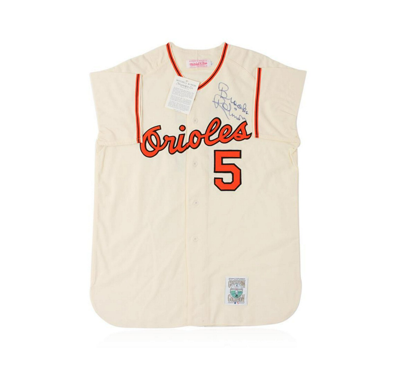 Baltimore Orioles Brooks Robinson Autographed Jersey