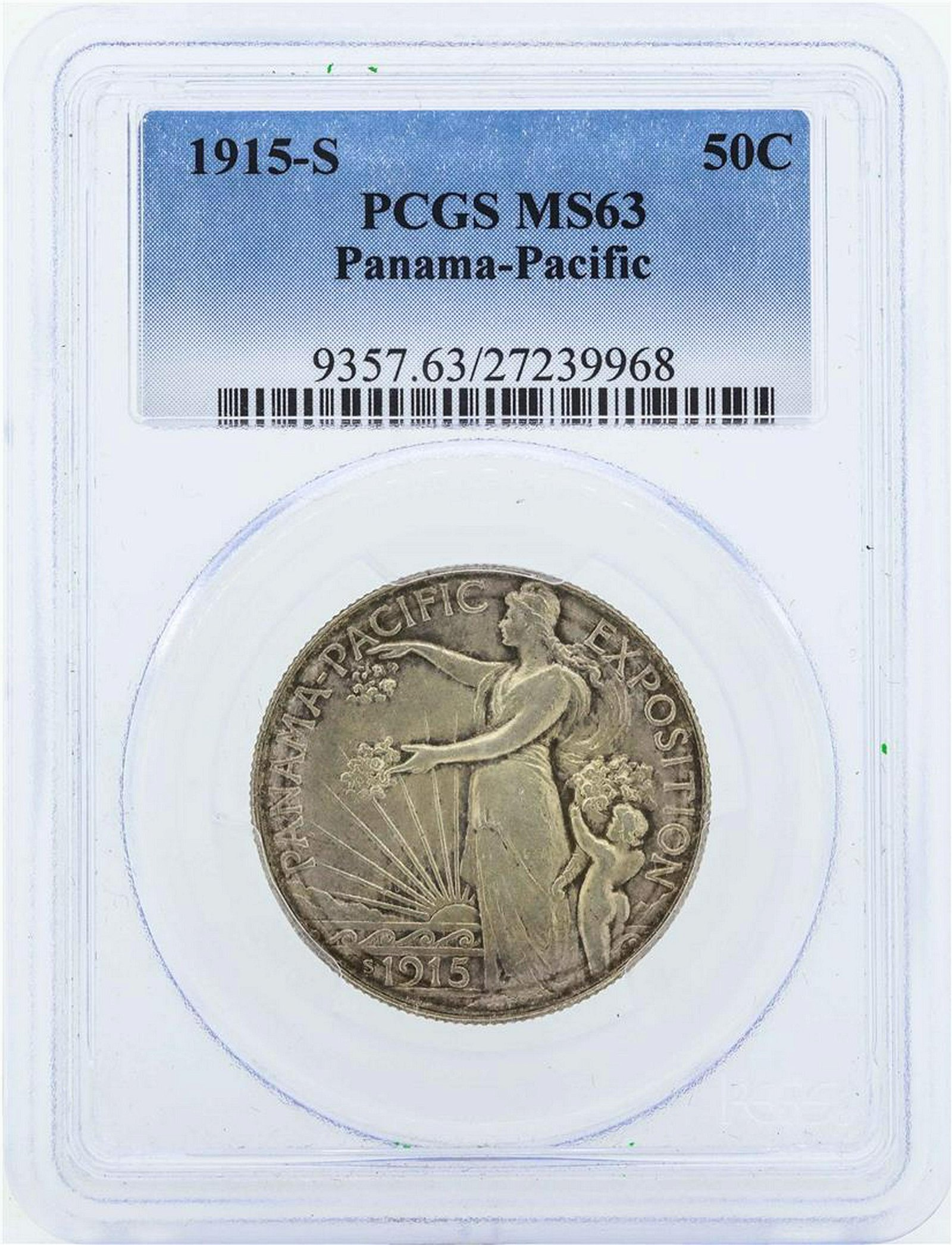 1915-S Half Dollar Panama Pacific Exposition