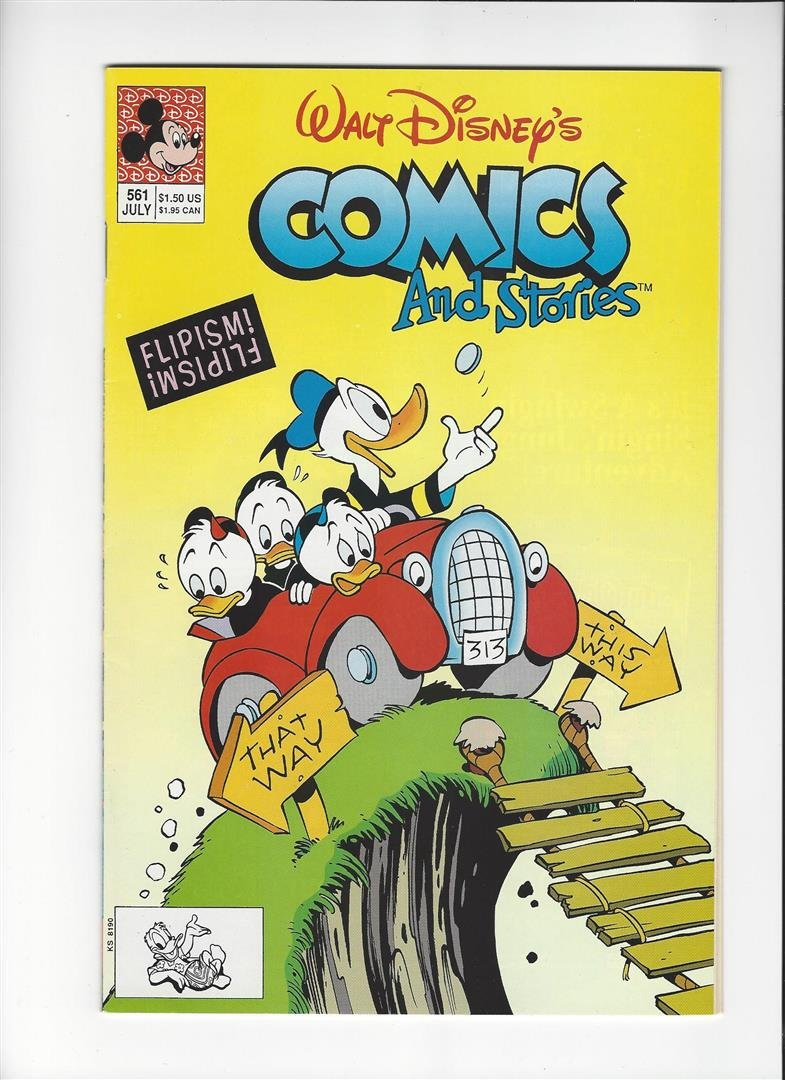 Walt Disneys Comics and Stories Issue #561 by Disney