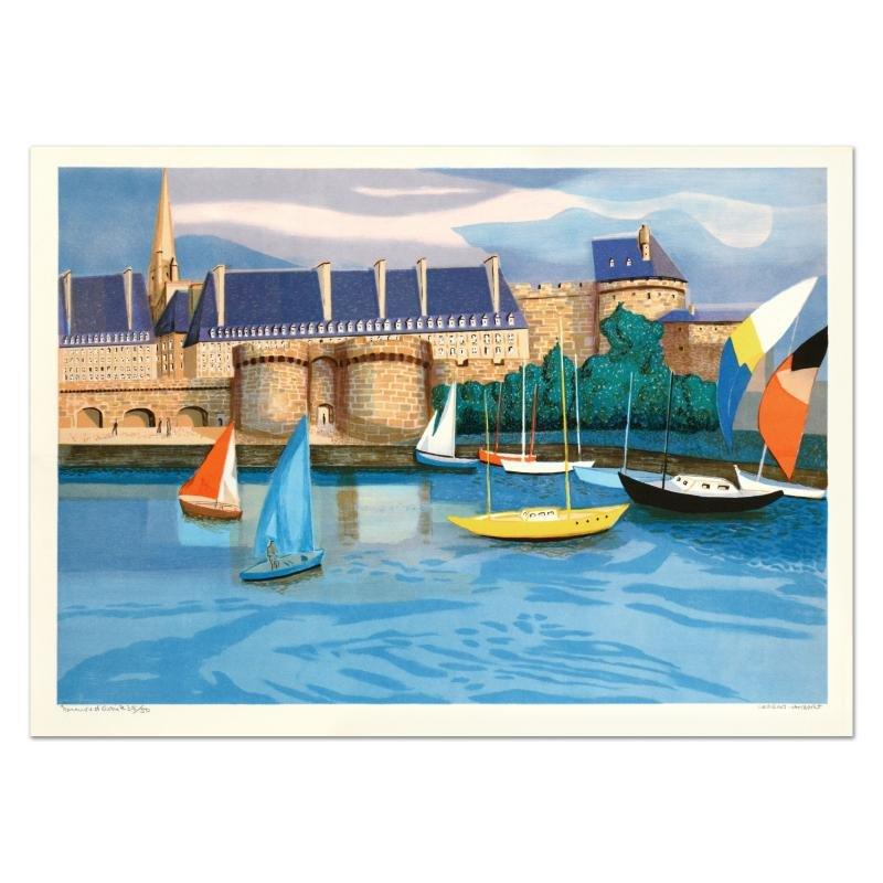 St. Malo by Lambert (1919-1998)