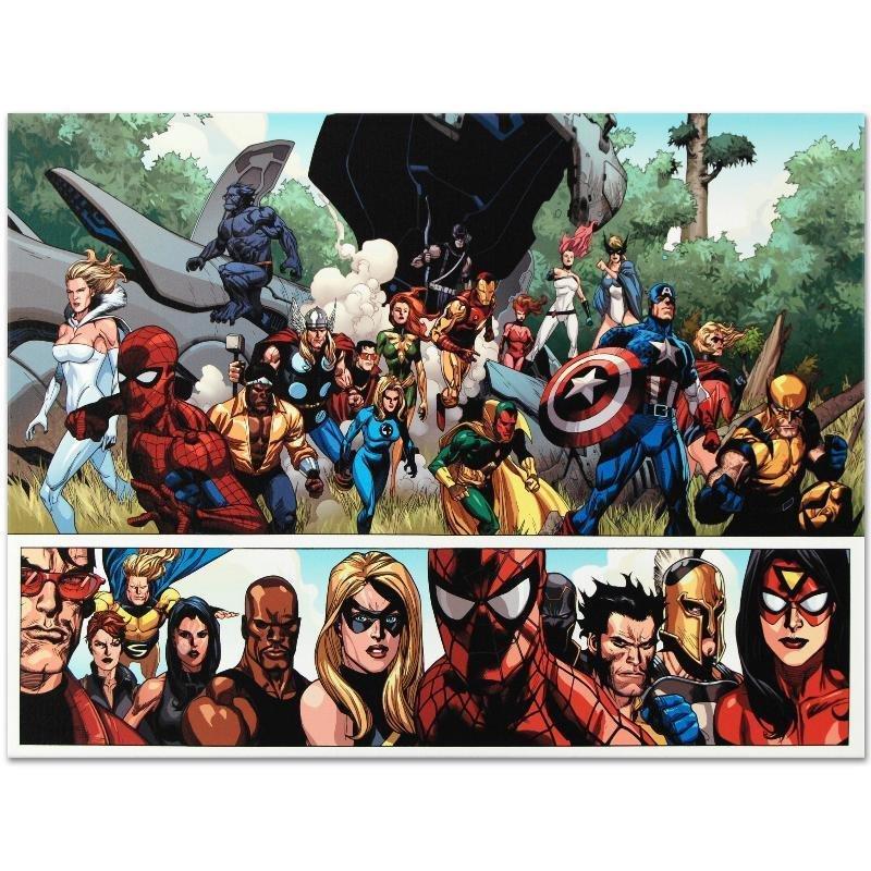 Secret Invasion #1 by Marvel Comics