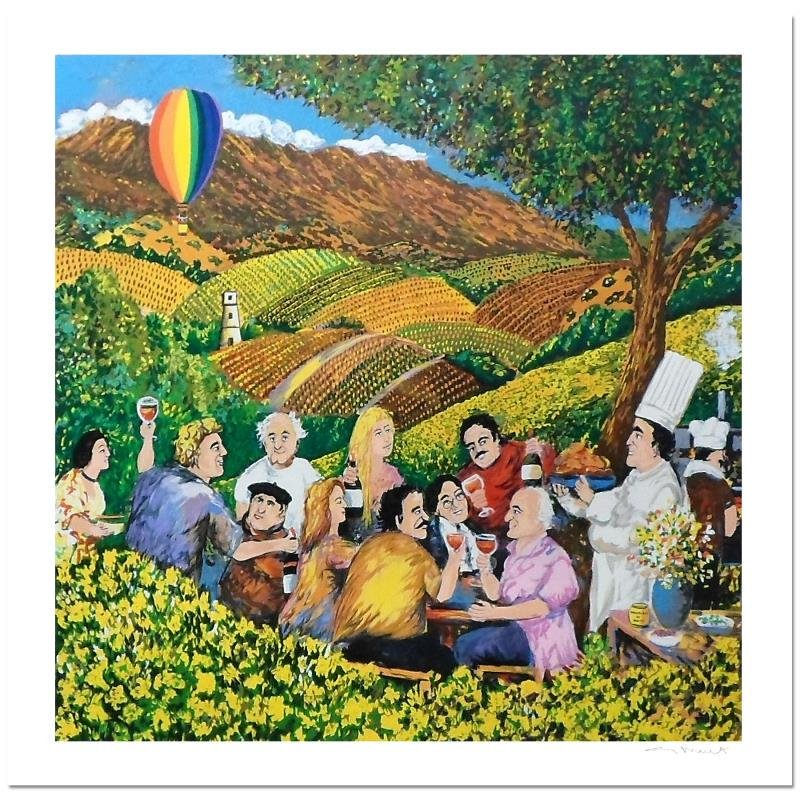 Napa Valley Mustard Festival by Buffet, Guy