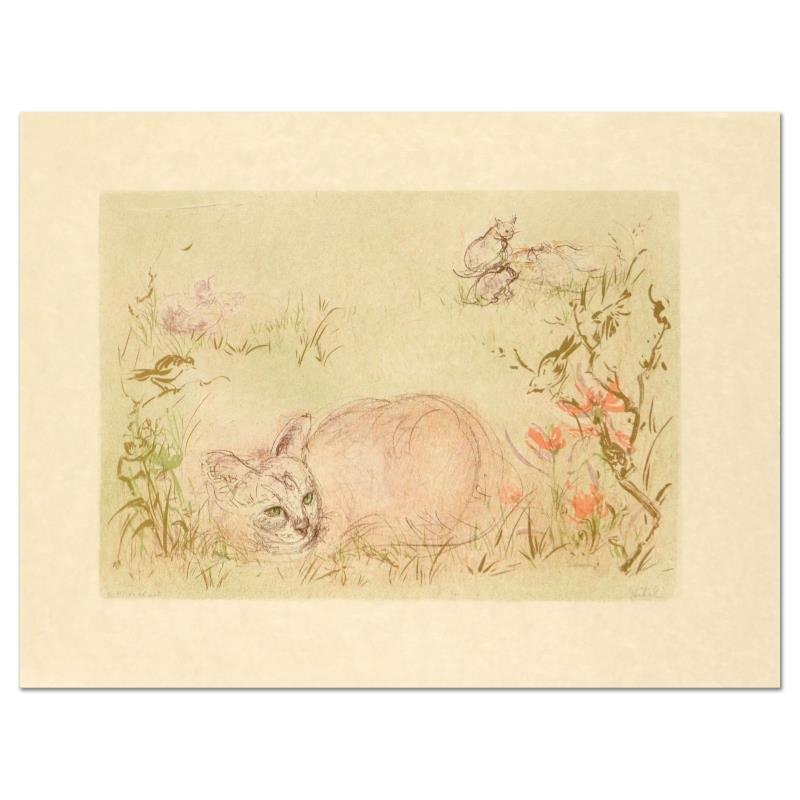 Worcester Cat by Hibel (1917-2014)