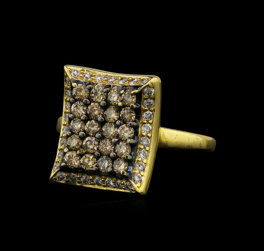 1.00 ctw Diamond Ring - 14KT Yellow Gold