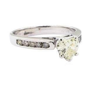 131 ctw Diamond Ring 10KT White Gold
