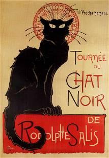 Theophile A Steinlen Chat Noir
