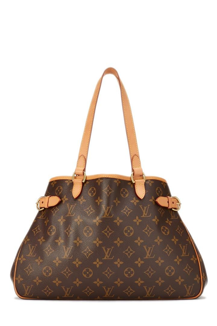 Louis Vuitton Monogram Canvas Leather Batignolles