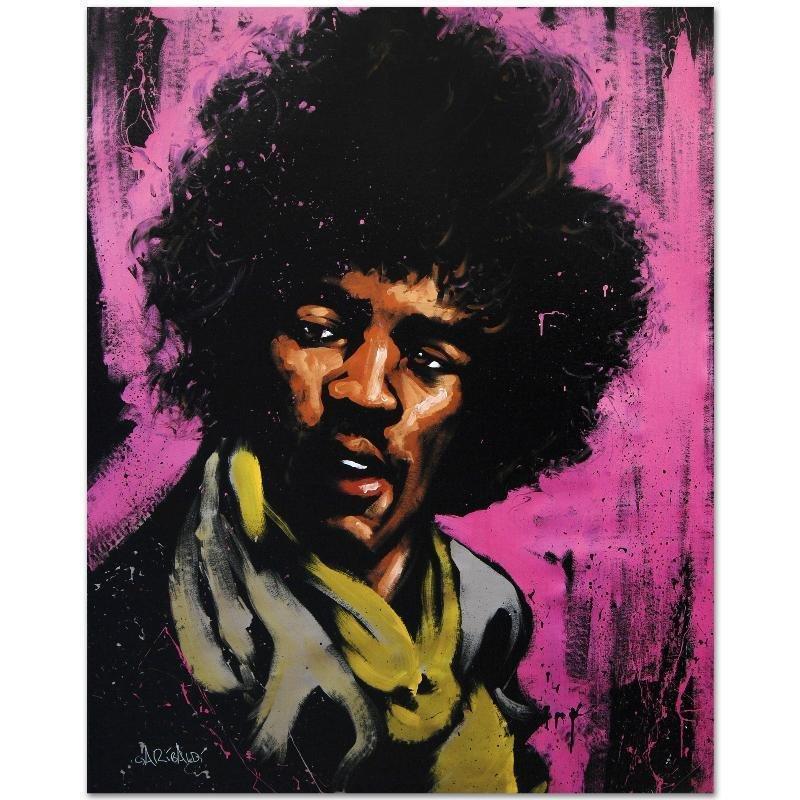 Jimi Hendrix (Purple Haze) by Garibaldi, David