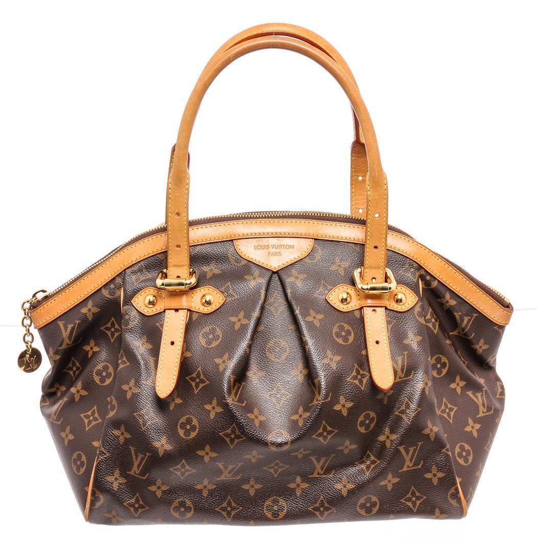 Louis Vuitton Monogram Canvas Leather Tivoli GM Bag