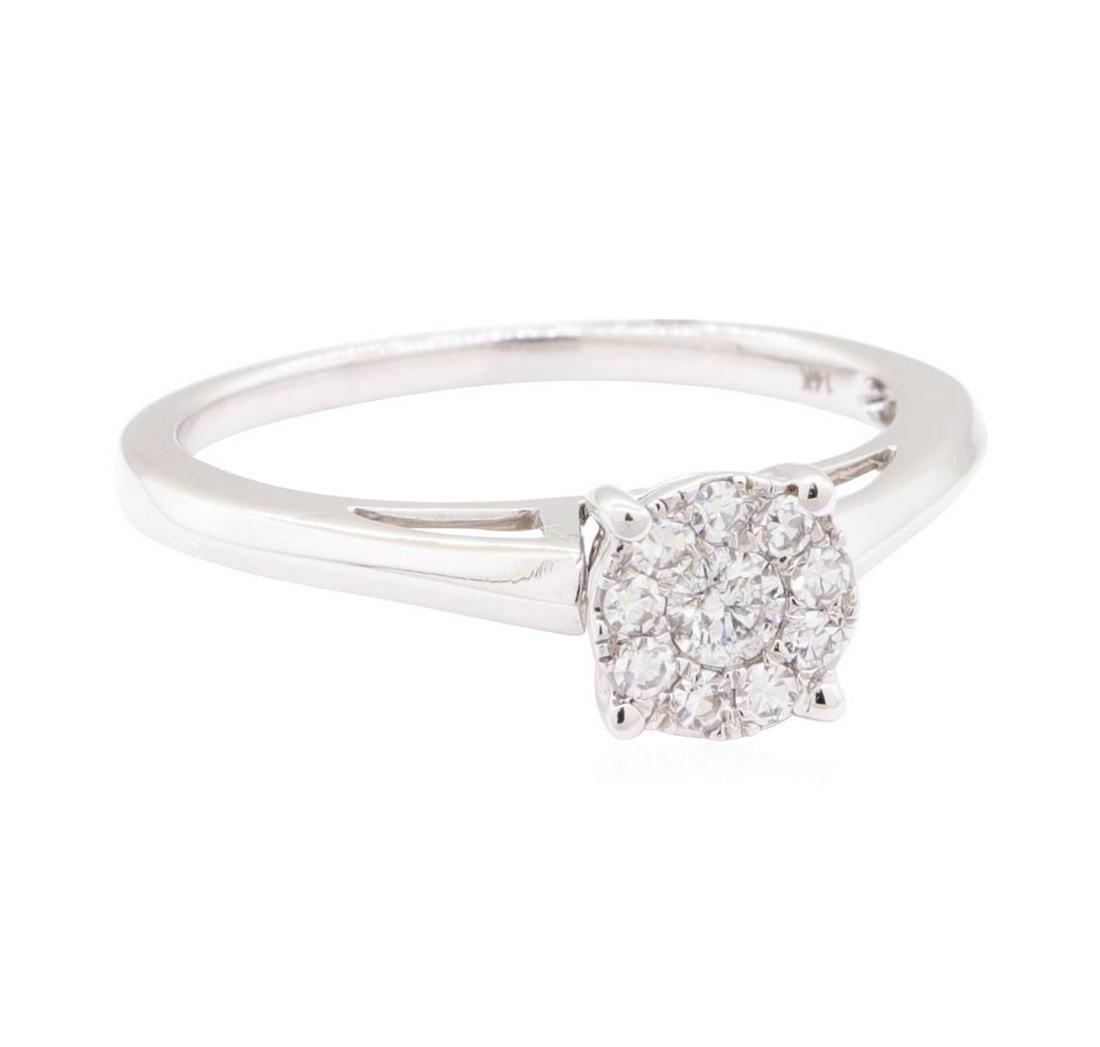 0.27 ctw Diamond Ring - 14KT White Gold