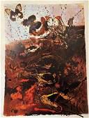 """Salvador Dali """"Auvergne (Butterfly Suit)"""""""