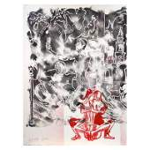 Echoes Through The Ages by Kostabi Original